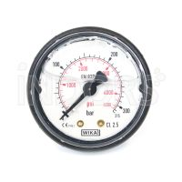 Pressure gauge for professional pressure washers - 50 mm glycerine bath