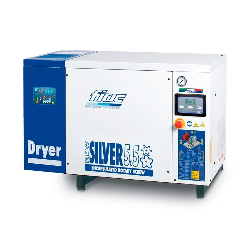 Fiac New Silver - Industrial Screw Compressor