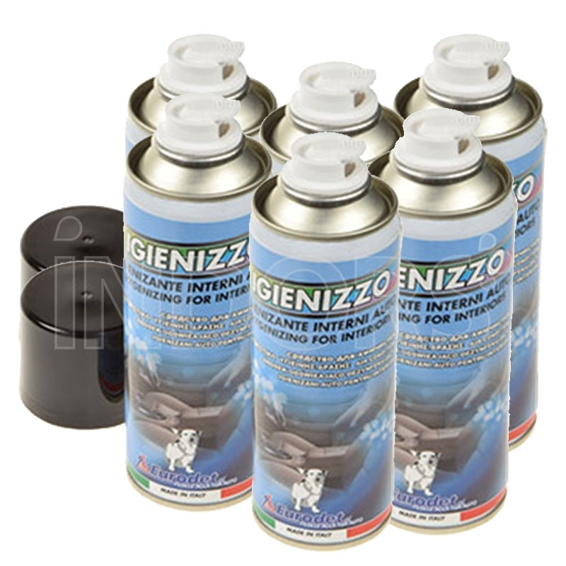 Eurodet Igienizzo Spray - Sanitizer for environments and cars