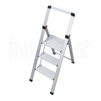 Gierre Slimstep BS300 - ALUMINUM Stool with High Parapet