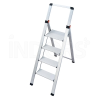 Gierre Slimstep BS400 - ALUMINUM stool with high railing