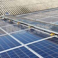 Robot Cleaning Photovoltaic Panels
