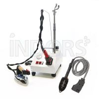 Bieffe Easy Vapor - Steam Machine for vertical ironing - Iron and Brush Included