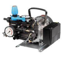 Motor pumps for spraying